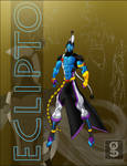 Eclipto - New Character Design by rhardo