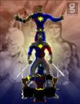 Pinoy Power Trio by rhardo