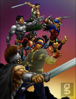 THE BAYAN KNIGHTS by rhardo