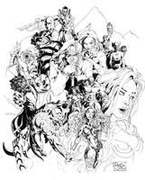 Bayan Knights: BANGIS by rhardo