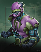 Commish 428: Powered Omega by rhardo