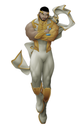 Commish 502: Uranian Titan by rhardo