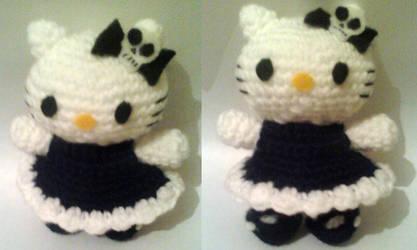 Kitty gothic lolita by luna-plateada