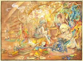 Nigredo's Birth by Yakra