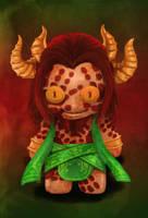 Magic the Gathering - Xenagos doll by TheFieryLantern