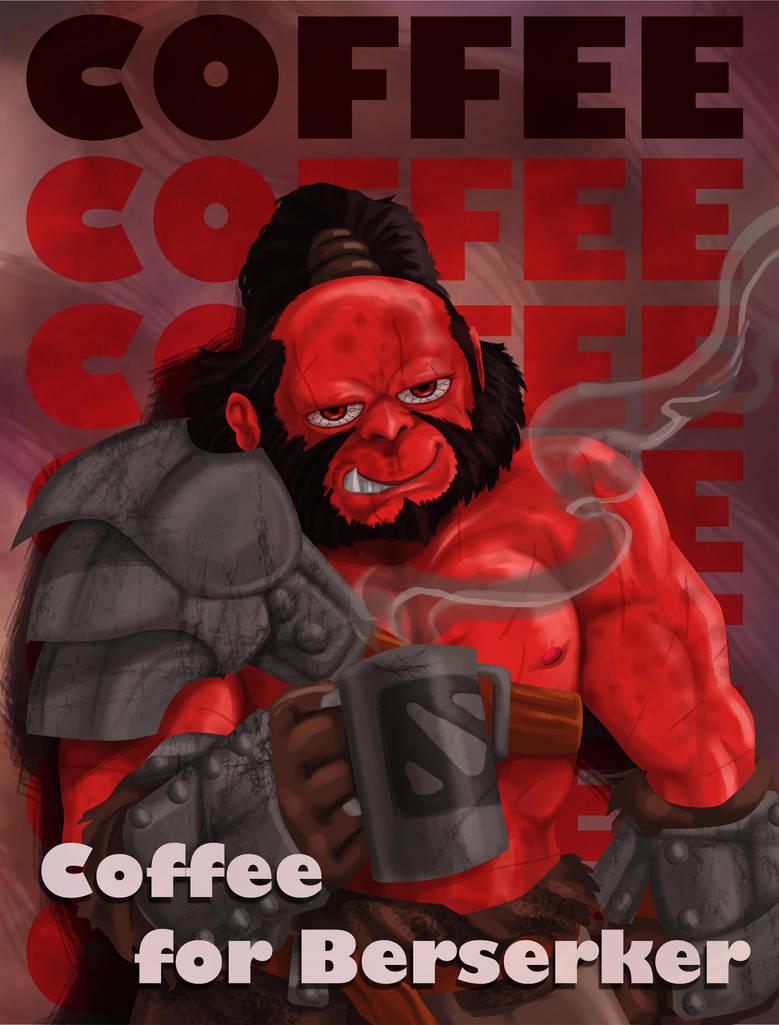 Dota 2 - Axe coffee by TheFieryLantern