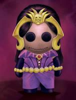 Magic the Gathering - Liliana doll by TheFieryLantern