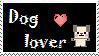 Dog Lover Stamp by Zeronix