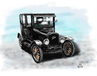 1915 Ford Model T by Belote-Art