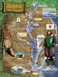 Chesapeake Bay History by Belote-Art