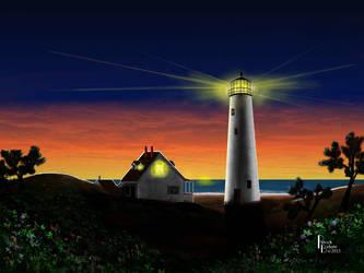 HOG ISLAND SUNRISE by Belote-Art