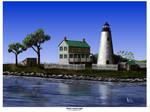 WATTS ISLAND LIGHT by Belote-Art