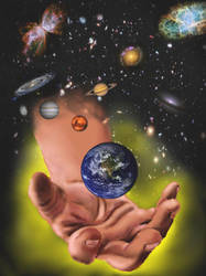 In The Hand Of God by Belote-Art