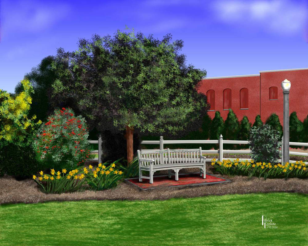 Park Bench by Belote-Art