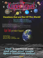 Kuiper Travel Agency poster by Belote-Art