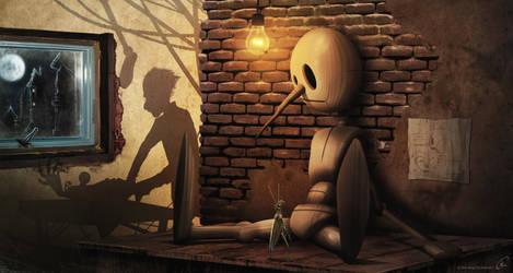 Pinochio by andersonedsilva