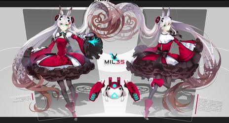 BJBB: Milie [Bot] by hen-tie