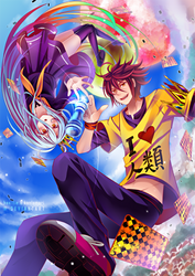 No Game No Life by hen-tie