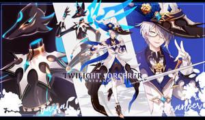 [EnTrancers] Twilight Sorcerer (Custom) by hen-tie