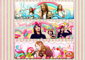 SHARE PSD [Cover Pack] Yoona - Suzy - Jessica by EliKwon