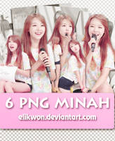 PACK - 6 png Minah by EliKwon