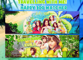 Traveling With Me and Happy 300 Watcher by EliKwon