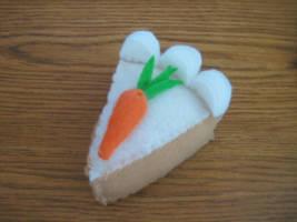 Carrot Cake Plushie by uglykat