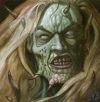 Cursed Elf by davidmichaelwright