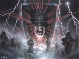The Great Spiritsheild of Dead King Tartazus by davidmichaelwright
