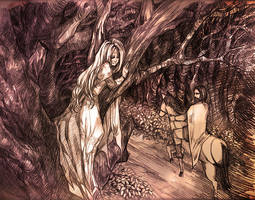 Commission - Cecillia's Saga: Come to me by Mokafi