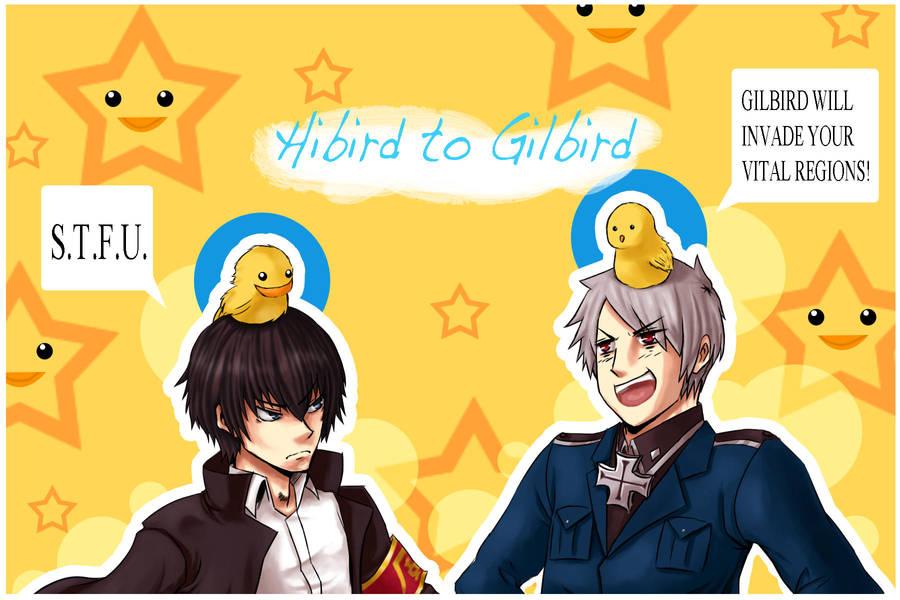 Hilbird to Gilbird by LazySensei