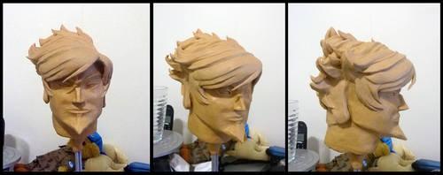 Nox sculpture - WIP by impia-dea