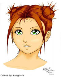 Izumi Colored By Rubyfire14 by Rubyfire14