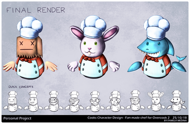 Chefs Concept Art by Bysamy