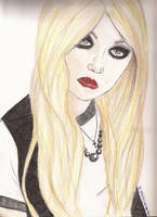 Taylor Momsen by Cassie-Paige-Heart