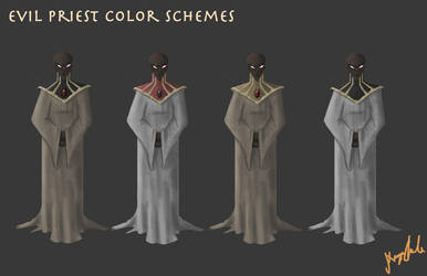 Colour Schemes Priest by Snow-Daisy