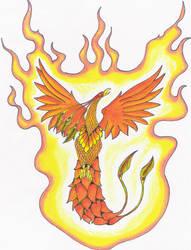 Phoenix by Jester1525
