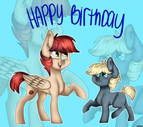 Gift: Happy Birthday dbkit by ArtistCoolPony