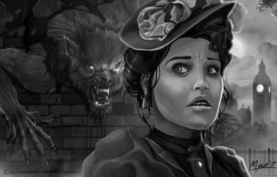 Werewolves of London Noir by kmjoen