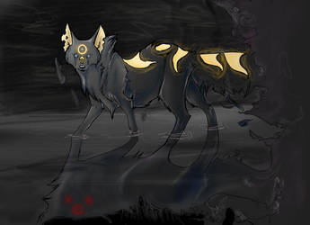 Sinister darkness by Khanie