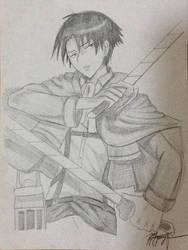 Levi Rivaille (Shingeki no Kyojin) by MioHouseki