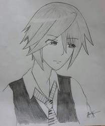 Original Character #11 Kaichou by MioHouseki
