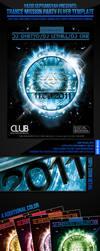 Trance Mission Party Flyer by si-ajidz