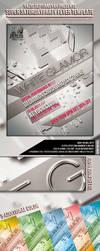 White Glamor Party Flyer by si-ajidz