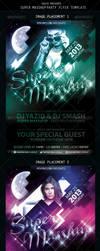 SuperMasshup Part Flyer Template by si-ajidz