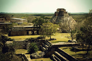 Above Uxmal by whatimagination