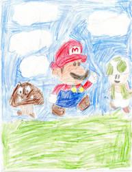 The Mushroom Kingdom by MaryKelly10