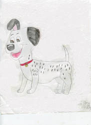 Pongo the Dalmatian by MaryKelly10