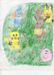 Pokemon Easter by MaryKelly10