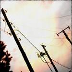 Power supply network by scheinbar